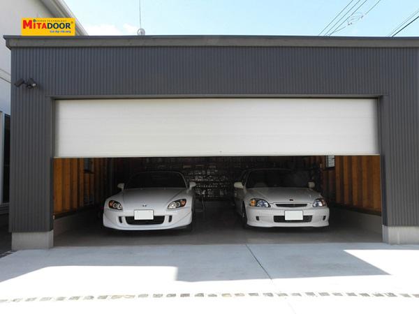 Chọn cửa cuốn cho gara ô tô